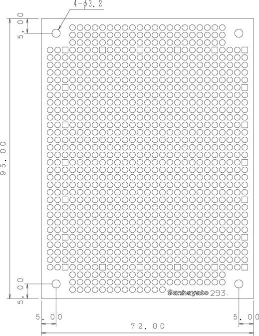 ICB-293のパターン図