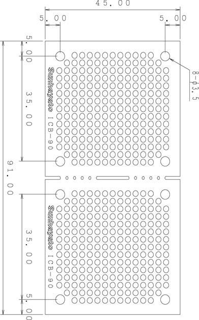 ICB-90のパターン図