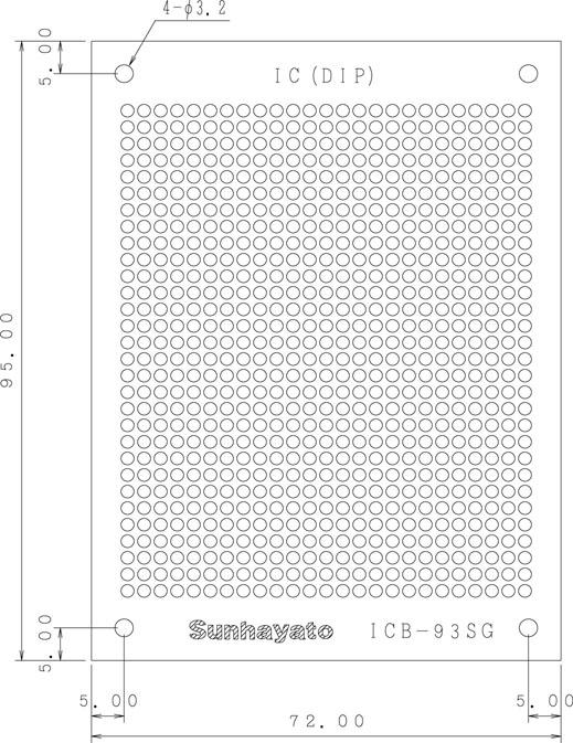 ICB-93SGのパターン図