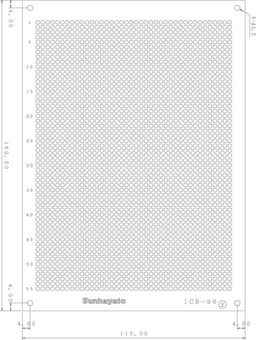 ICB-96のパターン図